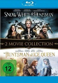 Snow White & the Huntsman / The Huntsman & The Ice Queen - 2 Disc Bluray - Kristen Stewart,Charlize Theron,Chris Hemsworth