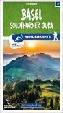 Kümmerly+Frey Karte Basel / Solothurner Jura Wanderkarte