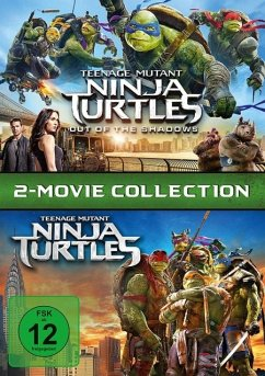 Teenage Mutant Ninja Turtles & Teenage Mutant Ninja Turtles 2 - Out of the Shadows DVD-Box - Will Arnett,Megan Fox,William Fichtner