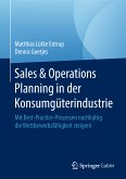 Sales & Operations Planning in der Konsumgüterindustrie (eBook, PDF)