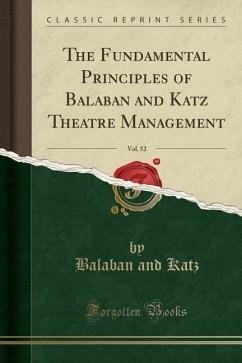 The Fundamental Principles of Balaban and Katz ...