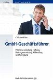 GmbH-Geschäftsführer (eBook, ePUB)