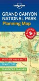 Lonely Planet Grand Canyon National Park Planning Map 1