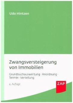 Zwangsversteigerung von Immobilien - Hintzen, Udo