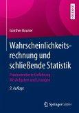 Wahrscheinlichkeitsrechnung und schließende Statistik (eBook, PDF)