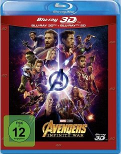 Avengers: Infinity War (Blu-ray 3D + Blu-ray)