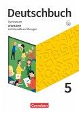 Deutschbuch Gymnasium 5. Schuljahr - Zu den Ausgaben Allgemeine Ausgabe, NDS, NRW - Arbeitsheft mit interaktiven Übungen auf scook.de