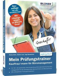 Mein Prüfungstrainer Kauffrau / Kaufmann für Büromanagement - Günter, Lenz;Baumeister, Inge