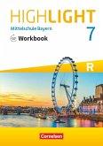 Highlight 7. Jahrgangsstufe - Mittelschule Bayern - Workbook mit Audios online. Für R-Klassen