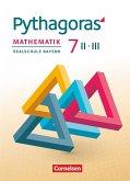 Pythagoras 7. Jahrgangsstufe (WPF II/III) - Realschule Bayern - Schülerbuch