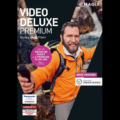 Magix Video Deluxe 2019 Premium (Download für Windows)