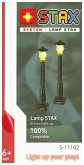 Light Stax, Bausteine, Lamp Stax (2 pcs. with cable & 2 Mini Lamps orange)