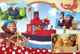 Petzi, Freunde auf hoher See (Kinderpuzzle)