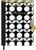 Tagebuch mit Schloss - All about black & white