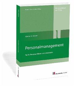 Personalmanagement - Vollmer, Günther R.