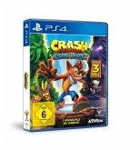 Crash Bandicoot N'Sane Trilogy + 2 Bonus- Level, 1 PS4-Blu-ray Disc