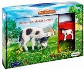 Mein Tierspielbuch: Komm mit, kleines Lamm!, m. Schleich-Tierfigur (Restauflage)