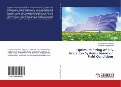 Optimum Sizing of SPV Irrigation Systems based on Field Conditions
