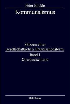 Oberdeutschland (eBook, PDF) - Blickle, Peter