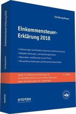 Einkommensteuer-Erklärung 2018 - Schalburg, Martin; Muser, Stefan