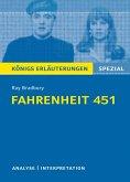 Fahrenheit 451. Königs Erläuterungen. (eBook, ePUB)