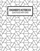 Quad Ruled with Lines: Dual Paper Softcover Notebook with Alternating 5x5 Inch Graph Ruled and Lined Pages for Engineers, Scientists and Make