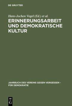 Erinnerungsarbeit und demokratische Kultur (eBook, PDF)
