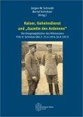 """Kaiser, Geheimdienst und """"Gazette des Ardennes"""""""