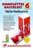 Bastelset Würfelturm (1) - für Kinder, leicht zu basteln, ausschneiden, falten, kleben, m. 3 Buch, m. 1 Buch