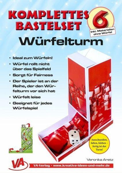 Fabulous Bastelset Würfelturm (1) - für Kinder, leicht zu basteln IS82
