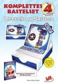 Bastelset Zettelbox Skaten - für Kinder, leicht zu basteln, ausschneiden, falten, kleben - fertig ist die Box!, m. 3 Buc