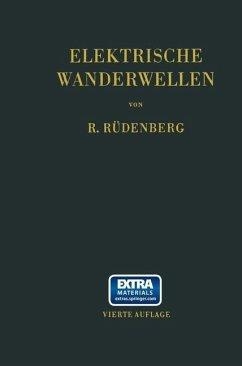 Elektrische Wanderwellen (eBook, PDF) - Rüdenberg, Reinhold