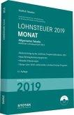 Tabelle, Lohnsteuer 2019 Monat