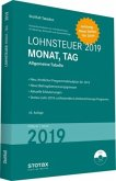 Tabelle, Lohnsteuer 2019 Monat, Tag