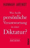 Was heißt persönliche Verantwortung in einer Diktatur? (eBook, ePUB)