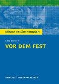 Vor dem Fest. Königs Erläuterungen. (eBook, ePUB)