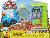 Hasbro E5400EU4 - Play-Doh, Räder Kran und Gabelstapler Konstruktion Spiele Set, Knete