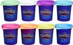 Hasbro A1206EU6 - Play-Doh, Plus 8er Pack, für fantasievolles und kreatives Spielen, Multicolor, Knete