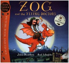 Zog and the Flying Doctors. Book + CD - Donaldson, Julia