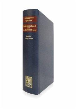Briefwechsel mit Adam Rechenberg - Spener, Philipp Jacob