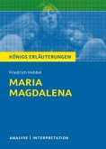 Maria Magdalena. Königs Erläuterungen. (eBook, ePUB)