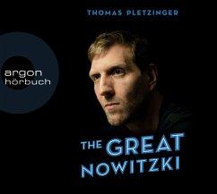 The Great Nowitzki, 2 MP3-CD - Pletzinger, Thomas