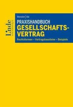 Praxishandbuch Gesellschaftsvertrag