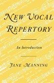 New Vocal Repertory (eBook, PDF)