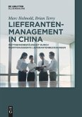 Lieferantenmanagement in China
