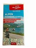 Motorradkarten Set Alpen Österreich Schweiz