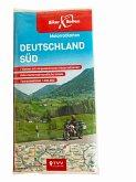 Motorradkarten Set Deutschland Süd