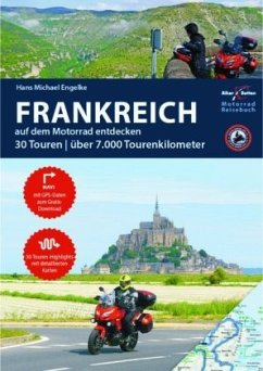 Motorrad Reiseführer Frankreich - Engelke, Hans Michael