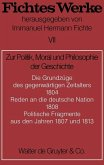 Zur Politik, Moral und Philosophie der Geschichte (eBook, PDF)