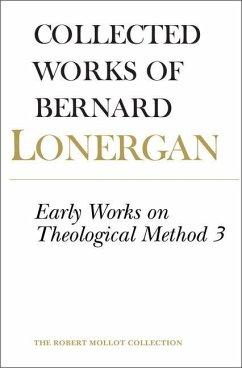 Early Works on Theological Method 3 (eBook, PDF) - Lonergan, Bernard
